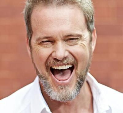 Craig laughing